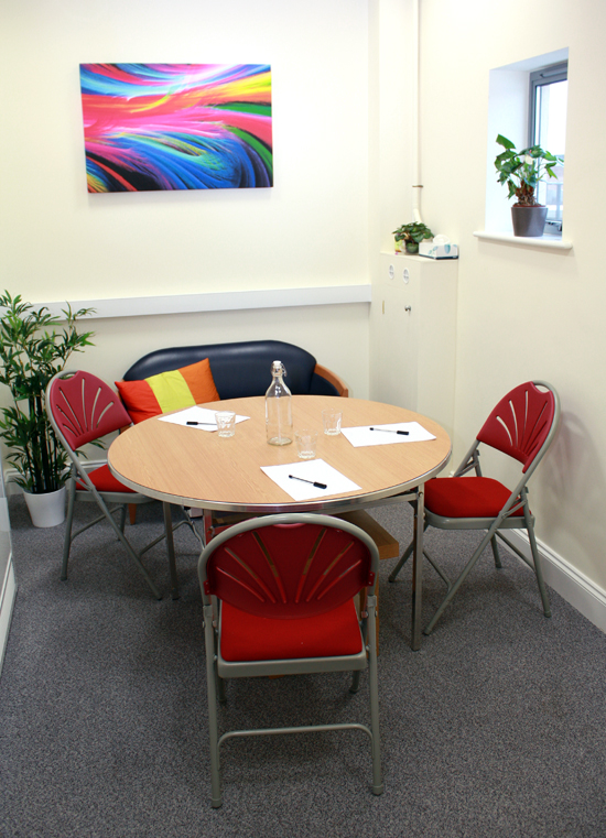 Small Formal meeting Room at the Kairos Centre